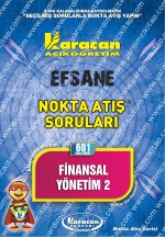 601 - Karacan Yayınları Nokta Atış Soruları - FİNANSAL YÖNETİM 2