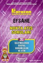 701 - Karacan Yayınları Nokta Atış Soruları - İŞLETMELERDE SOSYAL SORUMLULUK VE ETİK