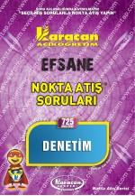 725 - Karacan Yayınları Nokta Atış Soruları - DENETİM