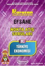 801 - Karacan Yayınları Nokta Atış Soruları - TÜRKİYE EKONOMİSİ