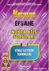 823 - Karacan Yayınları Nokta Atış Soruları -..
