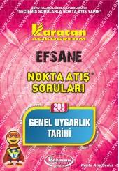 205 - Karacan Yayınları Nokta Atış Soruları -..