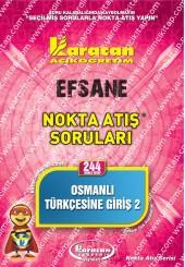 244 - Karacan Yayınları Nokta Atış Soruları -..