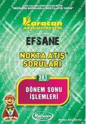 301 - Karacan Yayınları Nokta Atış Soruları -..