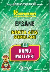 310 - Karacan Yayınları Nokta Atış Soruları -..