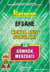 332 - Karacan Yayınları Nokta Atış Soruları -..