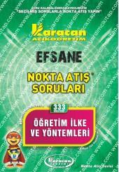 333 - Karacan Yayınları Nokta Atış Soruları -..