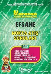 335 - Karacan Yayınları Nokta Atış Soruları -..