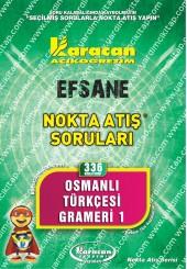336 - Karacan Yayınları Nokta Atış Soruları -..