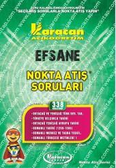 338 - Karacan Yayınları Nokta Atış Soruları -..