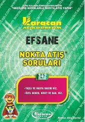 342 - Karacan Yayınları Nokta Atış Soruları -..