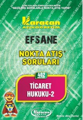 402 - Karacan Yayınları Nokta Atış Soruları -..