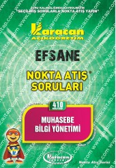 410 - Karacan Yayınları Nokta Atış Soruları -..