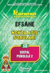 425 - Karacan Yayınları Nokta Atış Soruları -..