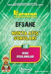 430 - Karacan Yayınları Nokta Atış Soruları -..
