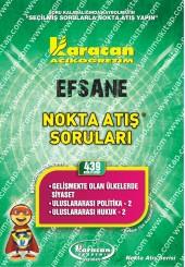 439 - Karacan Yayınları Nokta Atış Soruları -..