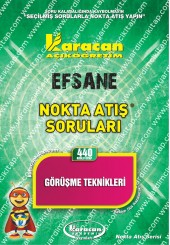 440 - Karacan Yayınları Nokta Atış Soruları -..