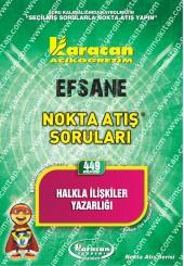 449 - Karacan Yayınları Nokta Atış Soruları -..