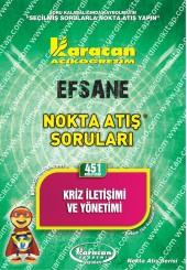 451 - Karacan Yayınları Nokta Atış Soruları -..