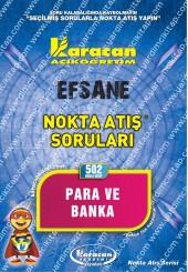 502 - Karacan Yayınları Nokta Atış Soruları -..
