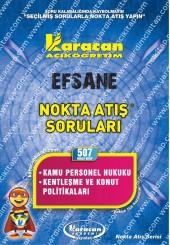 507 - Karacan Yayınları Nokta Atış Soruları -..