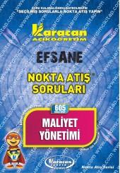 605 - Karacan Yayınları Nokta Atış Soruları -..