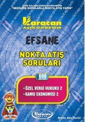 608 - Karacan Yayınları Nokta Atış Soruları -..