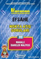 609 - Karacan Yayınları Nokta Atış Soruları -..