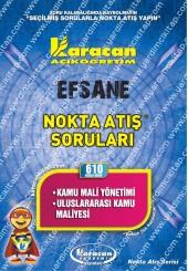 610 - Karacan Yayınları Nokta Atış Soruları -..
