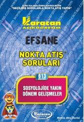 613 - Karacan Yayınları Nokta Atış Soruları -..