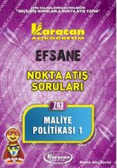 703 - Karacan Yayınları Nokta Atış Soruları -..