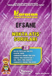 713 - Karacan Yayınları Nokta Atış Soruları -..