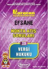 724 - Karacan Yayınları Nokta Atış Soruları -..