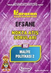 803 - Karacan Yayınları Nokta Atış Soruları -..