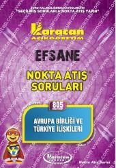 805 - Karacan Yayınları Nokta Atış Soruları -..
