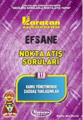 819 - Karacan Yayınları Nokta Atış Soruları -..
