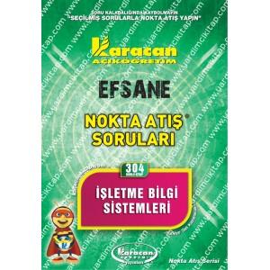 304 - Karacan Yayınları Nokta Atış Soruları - İŞLETME BİLGİ SİSTEMLERİ