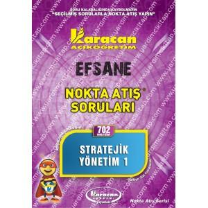 702 - Karacan Yayınları Nokta Atış Soruları - STRATEJİK YÖNETİM 1