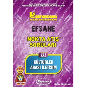 807 - Karacan Yayınları Nokta Atış Soruları - KÜLTÜRLER ARASI İLETİŞİM