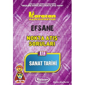814 - Karacan Yayınları Nokta Atış Soruları - SANAT TARİHİ