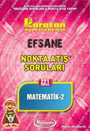 221 - Karacan Yayınları Nokta Atış Soruları - MATEMATİK 2