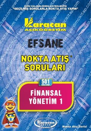 501 - Karacan Yayınları Nokta Atış Soruları - FİNANSAL YÖNETİM 1